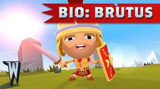 Official World of Warriors Bio Brutus