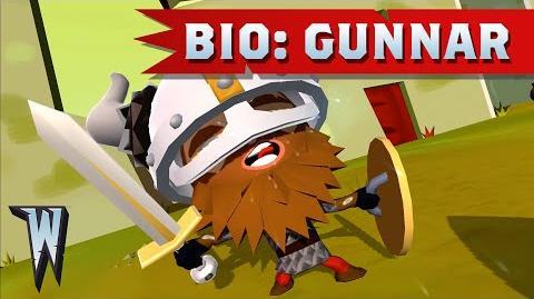 Official World of Warriors Bio Gunnar
