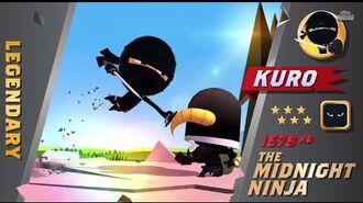 Official World of Warriors Focus 1 Kuro!