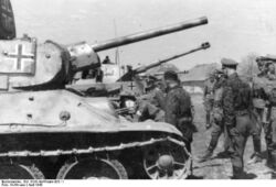 2nd SS Panzer Division, T-34
