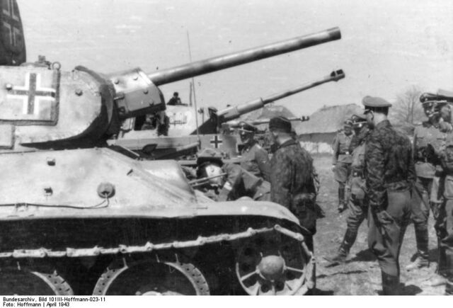 File:2nd SS Panzer Division, T-34.jpg