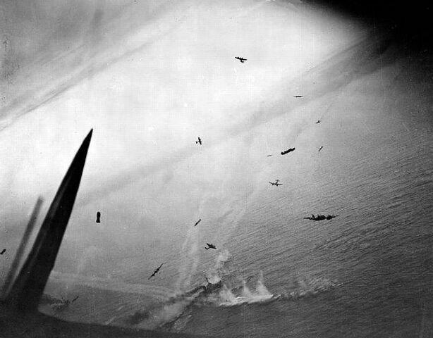 File:Beaufighter Maritime Attack, Borkum 1944 .jpg