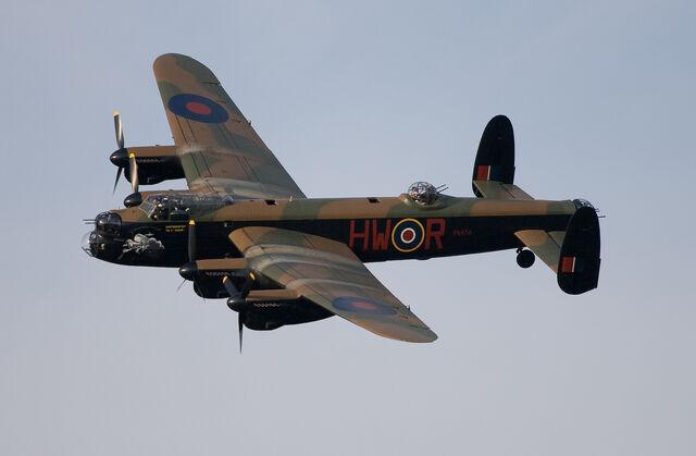 File:Lancaster Bomber.jpg