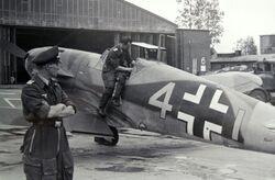 Bf 109 F4 9 JG3 5582