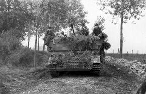 Möbelwagen, France 1944