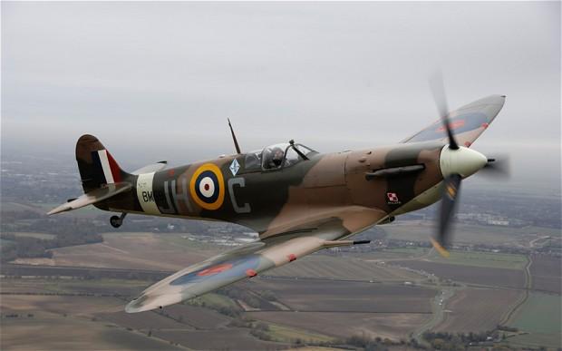 File:Spitfire, RAF Manston.jpg