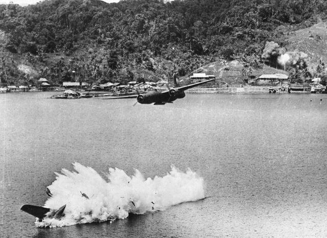 File:A-20s over Kokas, July 1943.jpg