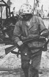 Firearms shotgun m97 marine ww2 375