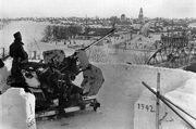 FlaK 36 (37mm) AA position, Volga Bridge Rzhev 1942