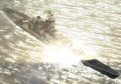 World in Conflict USS Missouri (BB-63)
