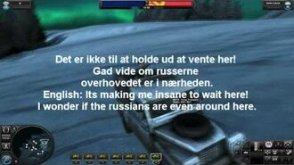 World in Conflict Danish voices with subtitles