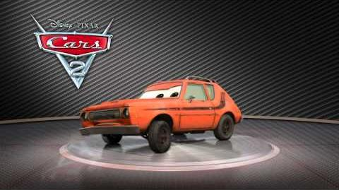 "Cars 2 Turntable ""Grem"""