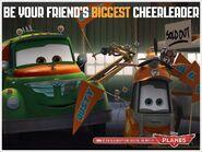 Be Your Friend's Biggest Cheerleader!