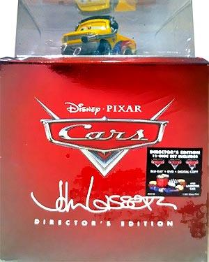 John lassetire jeff gorvette crew chief cars 2 promo
