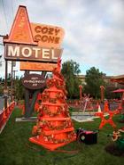 Cozy Cone Christmas Tree