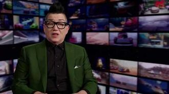 """Cars 3 """"Miss Fritter"""" Lea DeLaria Interview"""