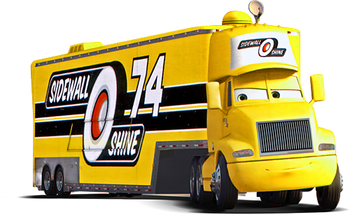 Sidewall Shine Hauler World Of Cars Wiki Fandom