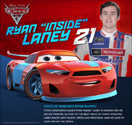 Ryan Laney World Of Cars Wiki Fandom Powered By Wikia