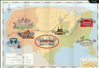 Map again