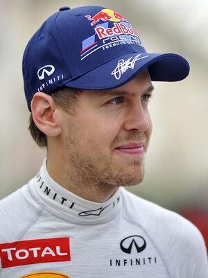Sebastian Vettel 2012 Bahrain GP