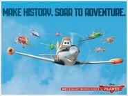 Make History, Soar To Adventure.