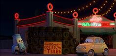 Coliseum tires
