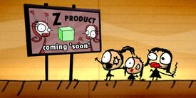 Product Z billboard