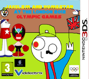 Jakelsm and Homestar at the London 2012 Olympic Games