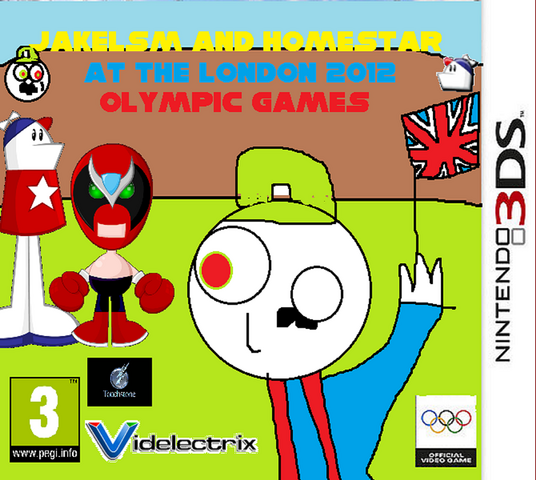 File:Jakelsm and Homestar at the London 2012 Olympic Games.png
