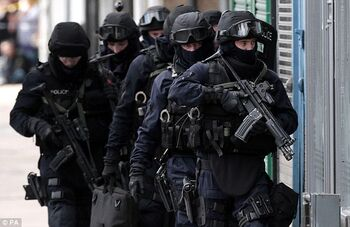 British Police Firearms Unit