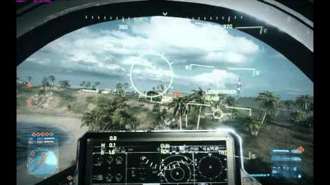 Battlefield 3 Flying Tutorial - Dodging Heat Seekers With The F-35