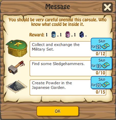 Message, Task