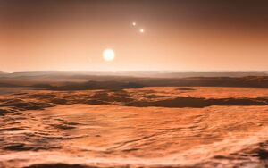 Gliese 667C system impression