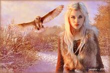 Nordic elf princess by zoozee-d5yuvrf