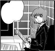 Haruka greets Osamu
