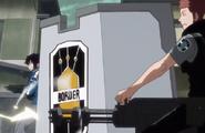 Kizaki minigun anime