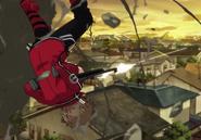 Satori Acrobatic Twin Snipe anime