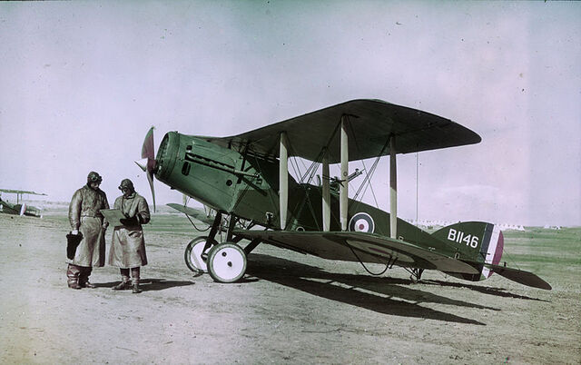File:800px-Observer, pilot, and Bristol Fighter F2B aircraft.jpg