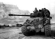 British Sherman Firefly Namur