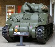 M4 Sherman tank at the Imperial War Musuem