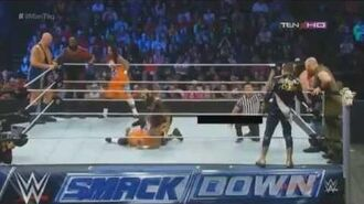 Big Show,Mark Henry,The Usos VS The Wyatt Family,Goldust,Stardust WWE Smackdown 12 September 2014 HD