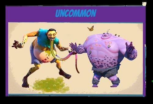 Zombies-uncommon