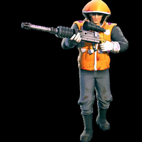 Human rare machinegunner