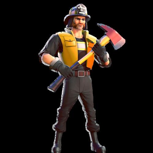 Human common firefighter
