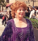 Charlotte Rae at the 1988 Emmy Awards cropped
