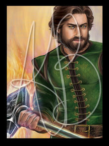 Perrin by Ariel Burgess, Official Wheel of Time Artist