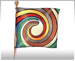 Aes Sedai flag ajah-white