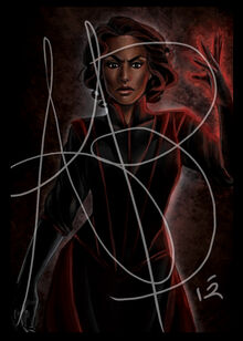 Semirhage by Ariel Burgess, Official Wheel of Time Artist