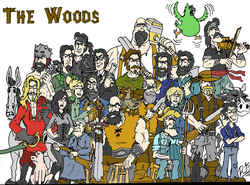 The Woods family picture