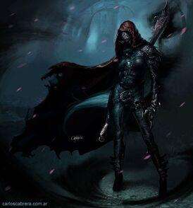 Wizard Assassin Fullbody by artbycarlos